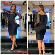 Большие размеры платья
